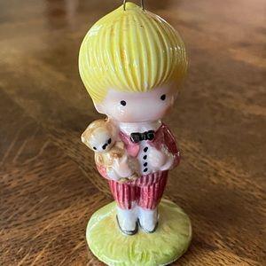 1974 Joan Walsh Anglund Ceramic Christmas Ornament